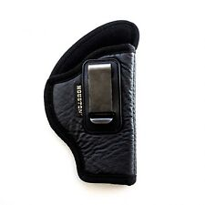 IWB Soft Leather Holster Houston - You'll Forget You're Wearing It! Choose Model