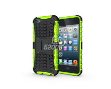 Tough Impact Hard Armor Shockproof Kickstand Case Cover For Apple iPod Touch 5 6