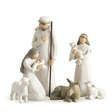 Willow Tree Christmas Nativity Figurine Set 26005 in Branded Gift Box