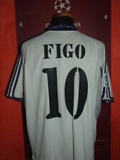 FIGO REAL MADRID 2000/2001 MAGLIA SHIRT CALCIO FOOTBALL MAILLOT JERSEY SOCCER