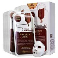 [MEDIHEAL] Placenta Revital Essential Facial EX Skin Mask Pack 10 pcs K-beauty