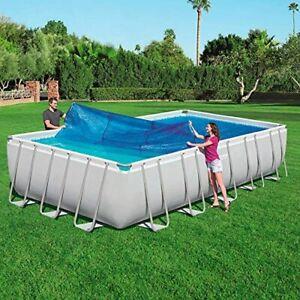 Bestway 58228 Bâche solaire 703 x 366 cm pour piscine hors sol rectangulaire 67
