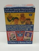 SPORTKINGS VOLUME 2 1 FACTORY SEALED PACK FROM BLASTER BOX BRAND NEW💥💥🔥🔥💥💥