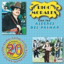 Rigo Morales Y Los Alegres Del Palmar Serie 2 En 1 20 Exitos CD New