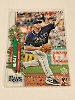 2020 Topps Walmart Holiday Baseball Rookie - Brendan McKay RC - Tampa Bay Rays