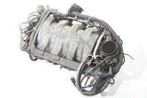 03 04 05 06 MERCEDES S430 W220 INTAKE MANIFOLD & FUEL RAIL & THROTTLE BODY  OEM