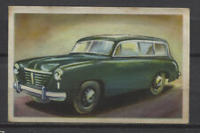 Goliath Stationcar 1950 Vintage 1950s Dutch Trading Card No.72