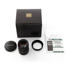 NEW Voigtlander Nokton 50mm F/1.5 aspherical VM Black for Leica M240 M9 M7 M6 MP