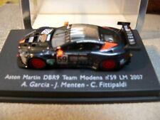 1/87 SPARK ASTON MARTIN dbr9 Team Modena nº 59 LM 2007 a Garcia/J. Menton/C..