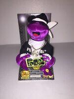 2005 Gemmy Frogz Hip-Hop Dancing Frog 50 CENT IN DA CLUB Rap It Ribbit NIB