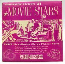 View-Master MPX, Movie Stars, S1 Pkg 1954, 3 Reel Set