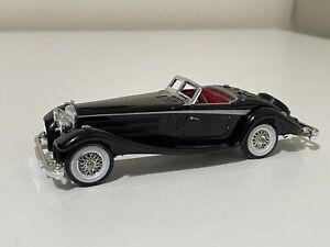 1937 Mercedes-Benz 540 K Matchbox Yesteryear 1:43 Black