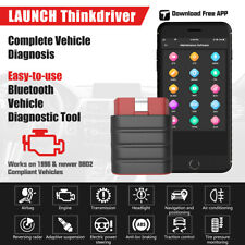 Bluetooth OBD2 Scanner IOS & Android Automotive Diagnostic Scan Tool Code Reader