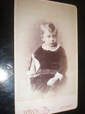 Cdv Old Photograph boy toy yacht by Winter at Derby c1890s