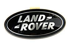 Genuine LAND ROVER Range Rover Sport Black Tailgate Badge Emblem DAH500330