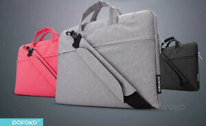 Pofoko shoulder bag carry pouch case Skin for Macbook Air pro 11 12 13 15 Retina