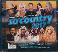 So Country 2-disc CD NEW McClymonts The Shires Alan Jackson Wynonna