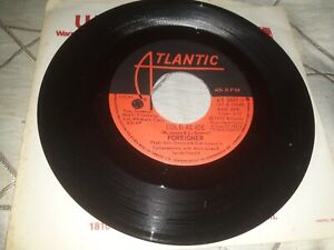 """Foreigner, Cold As Ice - 7"""" single - Canadian import pressing - VG"""