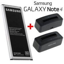Batterie Pile Samsung EB-BN910BBE + Station de Charge Galaxy Note 4 (SM-N910F)