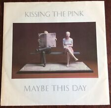 "KISSING THE PINK,MAY BE THIS DAY.12"",VINTAGE 45rpm,EXCELLENT CONDITION."