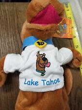 Rare - Scooby Doo Lake Tahoe Stuffed Animal Plush 9 -10 inch New