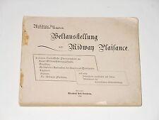 Ansichten der Weltausstellung und Midway Plaisance - 1894 - Abendpost Pub.