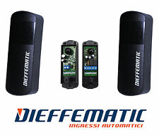 COPPIA Fotocellule per Cancello Compatibili Faac BFT CAME NICE 12-24V AC/DC IP55