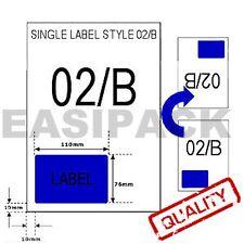 1000 Hojas SMP integrado Etiqueta De Papel-Estilo b/02