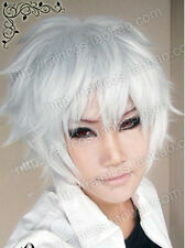 Gintama silver Aster Ivan Gilbert Prynne of Prussia Cosplay Party Wig Wigs