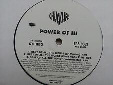 Power of III - Best of all the Worst