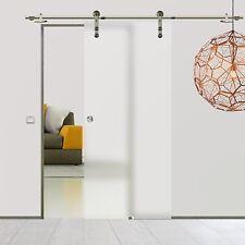 Soft Stop Glasschiebetür Glastür Edelstahl 900x2050mm BPS900DA
