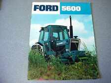 Ford 5600 Farm Tractor Brochure           lw