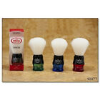 Omega Shaving Brush  90077 Syntex 100 Synthetic Multi color Red Green and Blue