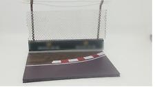 FRG 1:43 B/C Curved F1 Model Track Diorama Base Crash Barrier & Safety Fencing
