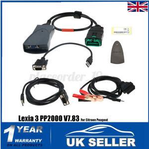 OBDII V7.83 For Citroen Peugeot Diagnostic Interface PP2000 Lexia 3 Scan Tool UK