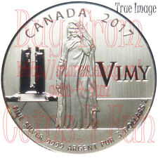 2017 Canada 100th Anniversary of the Battle of Vimy Ridge - $3 Pure Silver Coin