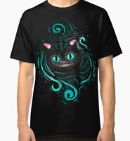 Cheshire Cat Art T-Shirt, Alice In Wonderland Tee, Men's Women's All Sizes