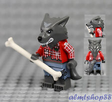 Lego Series 14 - Wolf Guy Minifigure 71010 Collectible Werewolf Halloween Bad