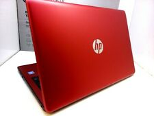 "HP Red 15-bs234wm Notebook PC - Intel Pentium Silver N5000 4GB 1TB DVD 15.6"" W10"