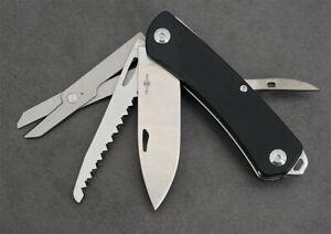 Twosun Multifunction Survive Multi Tool Purpose Pocket Knife TS206-Drop--Black