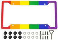 International Tie Flag-Themed License Plate Frame High Grade 304 Stainless Steel Ireland