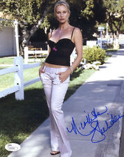 (Ssg) Nicolette Sheridan Signed 8X10 Color Photo with a Jsa (James Spence) Coa