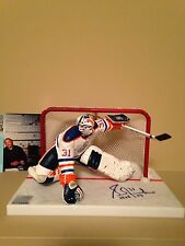 Mcfarlane Nhl Grant Fuhr Oilers/Team Canada Autographed Signed figure Rare