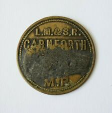 More details for railway pay check token lm&sr carnforth 330