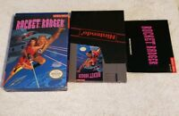Rocket Ranger Nintendo NES VIDEO GAME COMPLETE IN BOX GOOD CONDITION