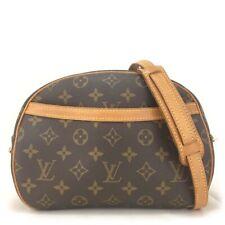 100% Authentic Louis Vuitton Blois Monogram Crossbody Shoulder Bag/oo173