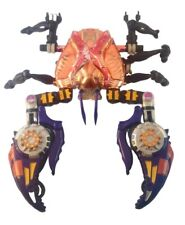 Transformers Beast Wars Rampage Crab 1997 Transmetals No Head No Accessories
