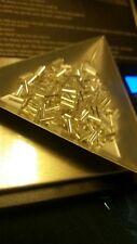 Beads - Matsuno Silver-lined crystal bugle beads - 20g - 7mm (A)