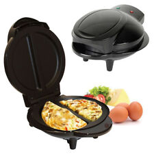 800W-1000W ELECTRICAL OMELETTE MAKER FRY EGG COOKER BREAKFAST NON STICK COOKWARE
