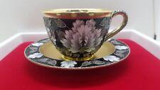 Russian Gilt Silver 816 Closonne Enamel Tea Cup .